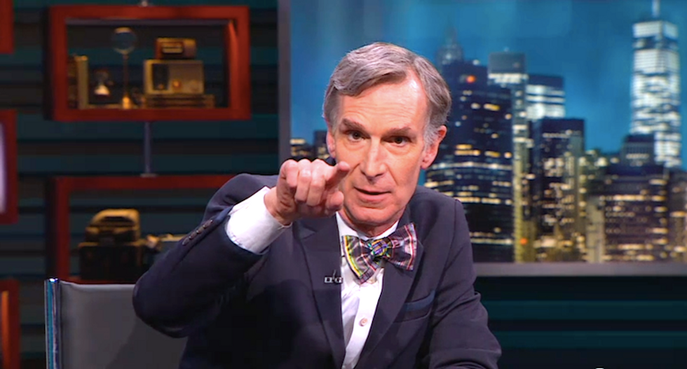 'F*cking A**hole': Conservatives go berserk after Bill Nye links Texas floods to climate change