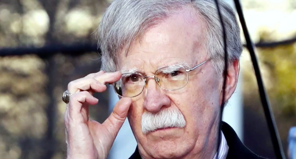 Bolton associates were forced to secretly work around Trump's people to undo the damage of Ukraine extortion: report