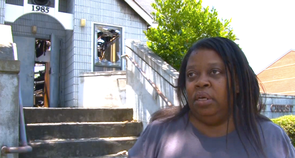 Second black church fire ruled arson -- this time in Georgia -- but authorities say it's no hate crime
