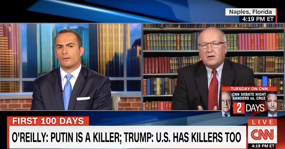 'I've seen the transcript, sir': CNN anchor scorches Trump-supporting Republican on Putin defense