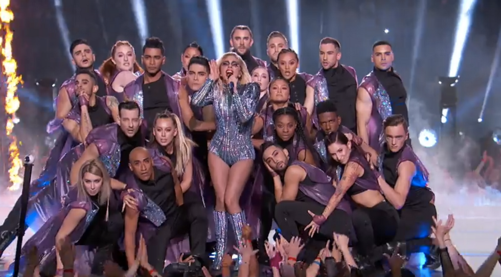 'As far as Satanic rituals go, that was pretty entertaining': Twitter loved Lady Gaga's halftime show