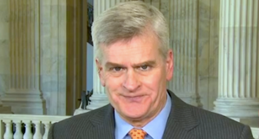 GOP senator repeatedly contradicts himself on Obamacare -- and leaves CNN hosts baffled