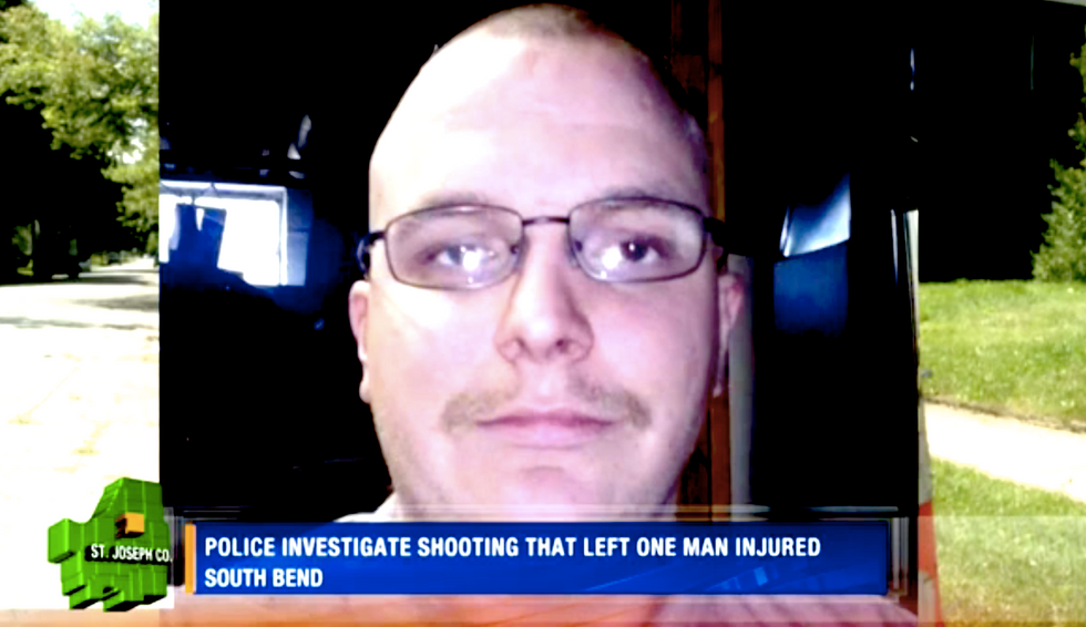 'Not racist' Confederate flag-waver shot in Indiana after N-word altercation with black men