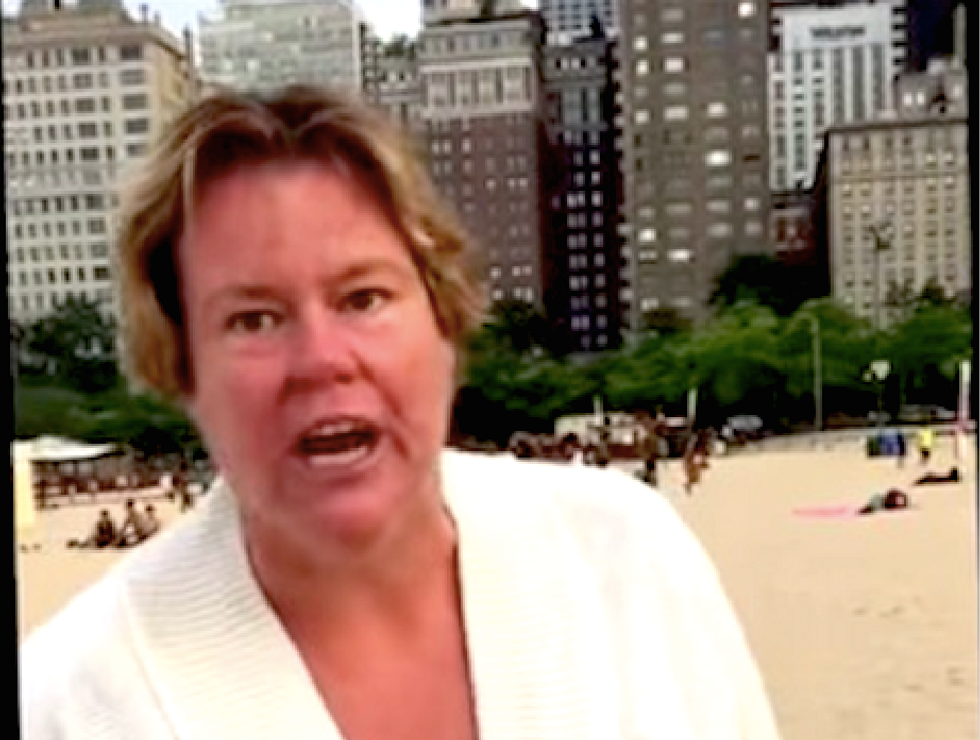 WATCH: Chicago woman shouts N-word at black mom -- then lectures her about the Constitution