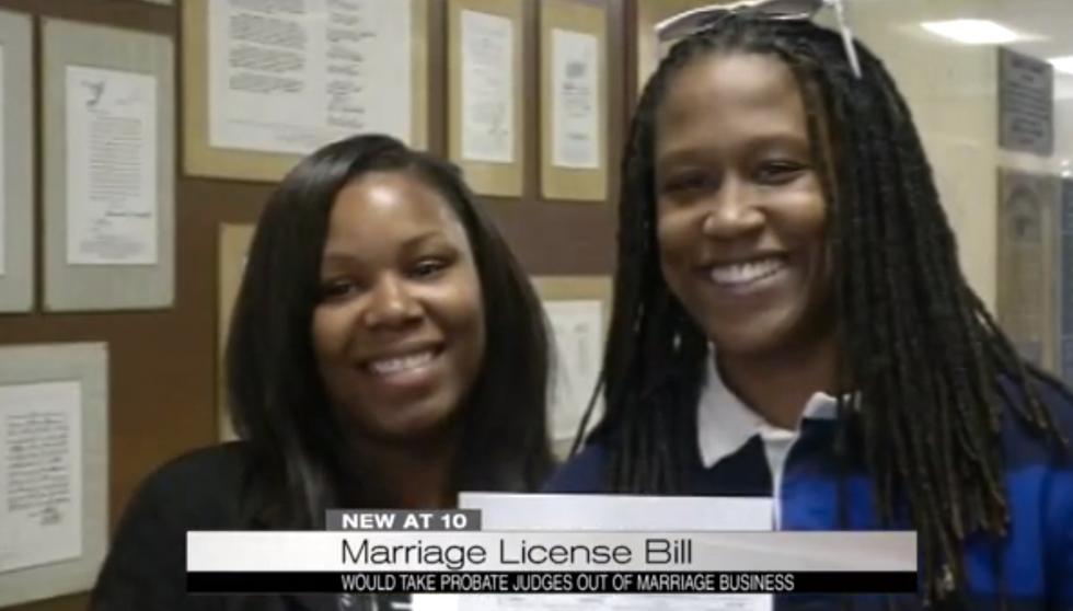 Alabama legislators tee up bill to let judges opt out of granting marriage licenses altogether