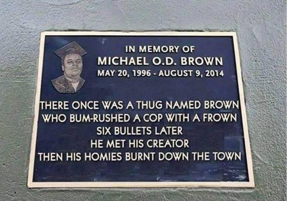 Cops make disgusting online 'memorial' mocking death of Ferguson's Michael Brown