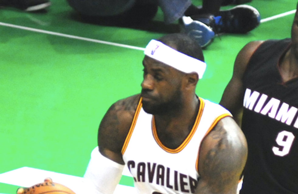 Basketball great LeBron James slams Trump's immigration ban: It 'divides and excludes people'
