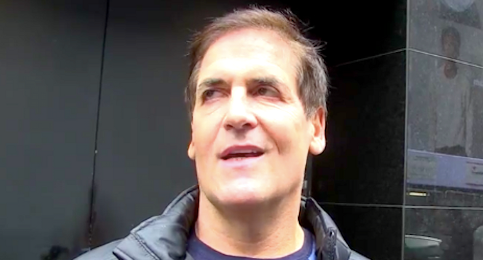 Mark Cuban doubts Trump lasts four years: 'I don't know that he knows what he's thinking'
