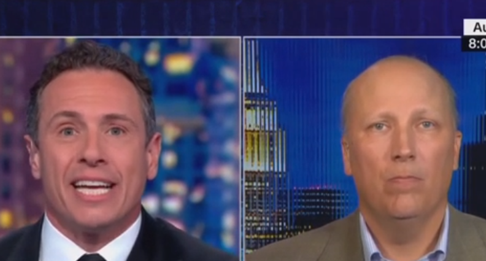 CNN's Chris Cuomo rips GOP congressman to shreds for vote against disaster aid