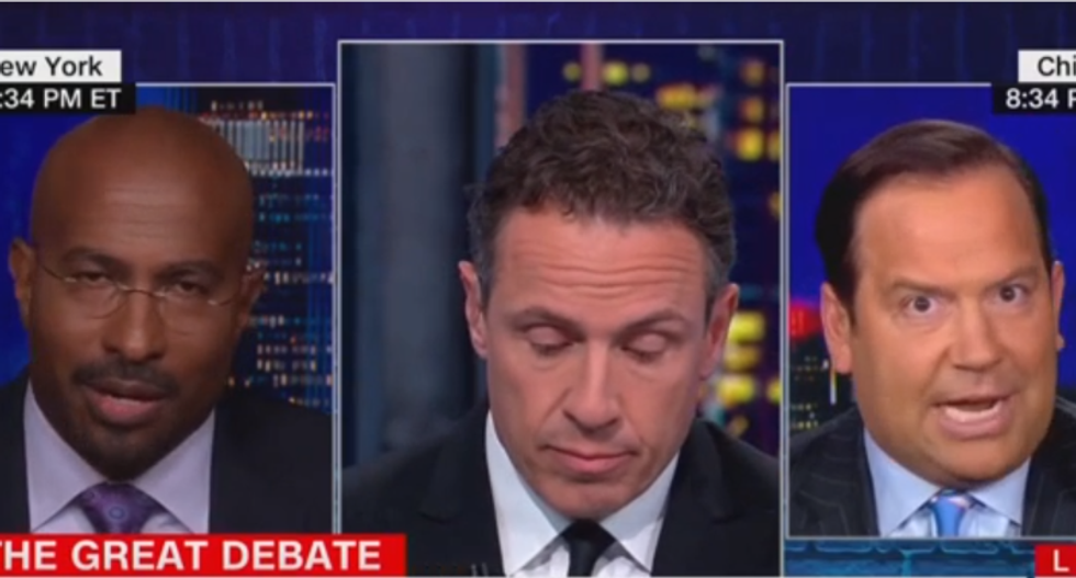 CNN panel devolves into chaos as Trump surrogate tries to excuse president's smear of the Central Park Five