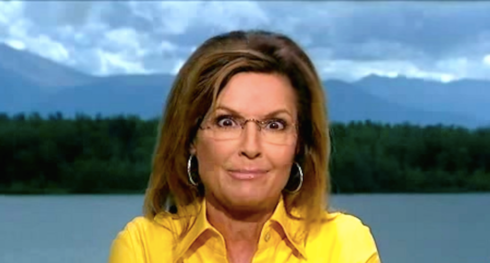 Sarah Palin: Trump's policies sound like they came after drinking a six-pack -- and that's why I like him