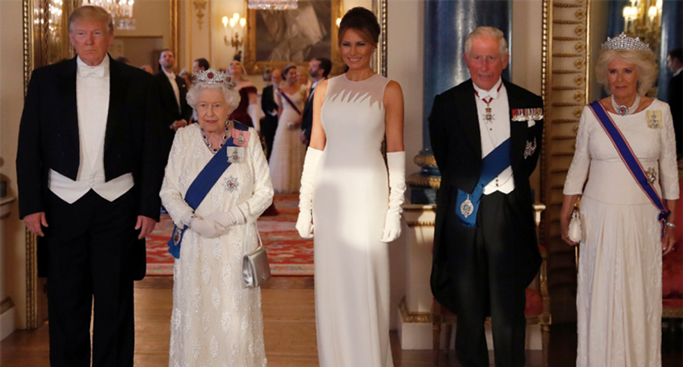 'Why does Ivanka have a maxi pad stuck to her head?' and other hilarious quips about the Trumps' UK visit