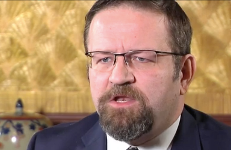 Sebastian Gorka out of White House after controversies over neo-Nazi connections and phony Ph.D.