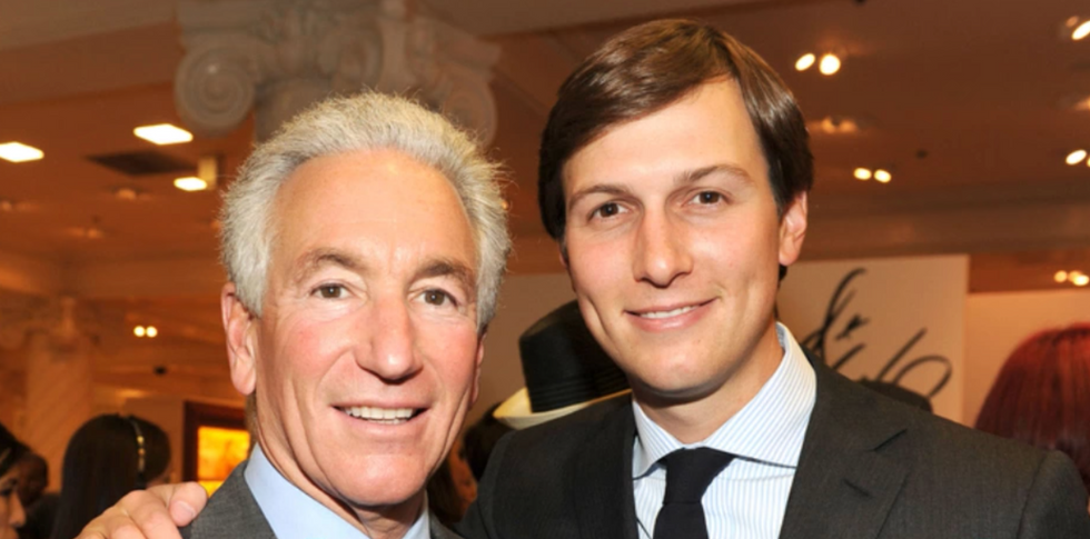 Jared Kushner's dad is being shunned by investors and is headed for disaster: report