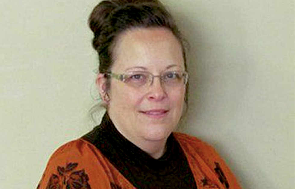 Kim Davis says in statement: 'This has never been a gay or lesbian issue. It is about marriage and God's Word.'