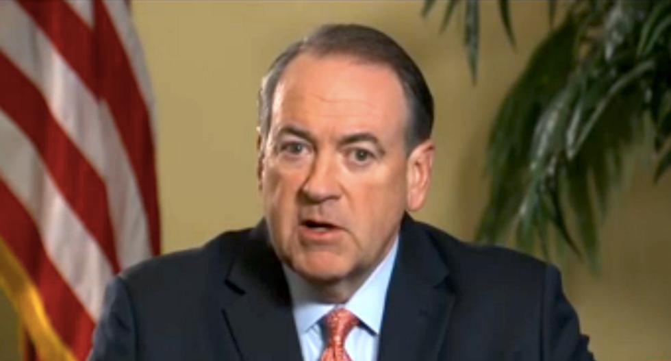 MSNBC host stumps Huckabee: Why attack Hillary as lawbreaker when you back Kim Davis?