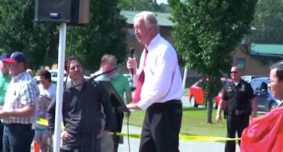 Dixie-singing Kim Davis supporter: 'The Court has had many opinions — but they are not law'