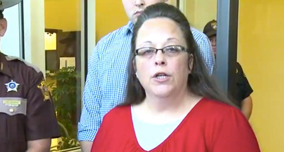 Kim Davis inspires NC mayoral candidate to jail gays: 'What's wrong with eradicating homosexuals?'