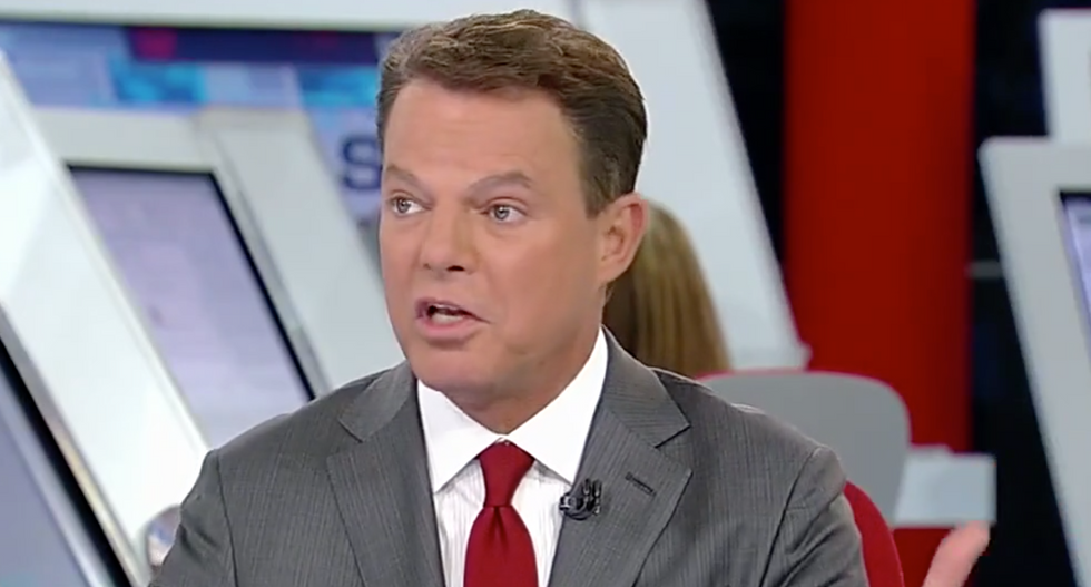 WATCH: Fox News' Shep Smith calls out Sarah Sanders for lying about Russian collusion during frantic press conference