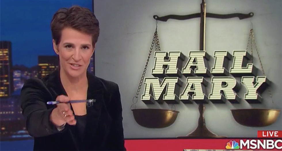 Rachel Maddow reveals Michael Flynn's new plot to score a pardon: Hiring a Fox News lawyer