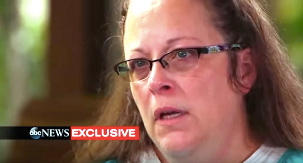 Kim Davis doesn't get why gays want marriage licenses: 'I don't think dignity is guaranteed in the Constitution'