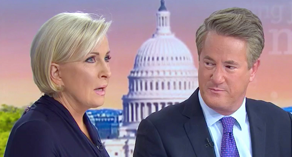 MSNBC's Morning Joe and Mika blasted for fretting about 'lock him up' chant aimed at Trump: 'Take your scolding and shove it'