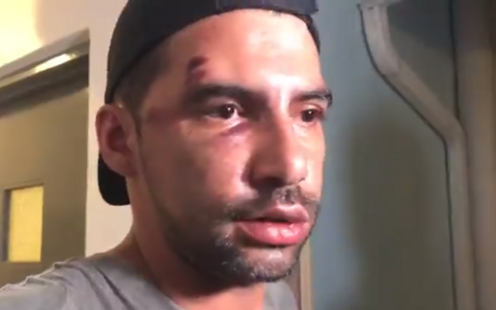 Horrific video shows Miami Beach gay couple being attacked by violent mob after Pride parade