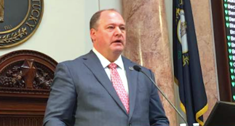 Bible-quoting Kentucky Republican keeps seat after agreeing to pay fine for sexual harassment