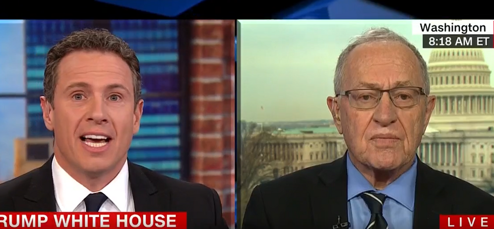 CNN's Cuomo hammers Alan Dershowitz for defending Trump: 'Have you seen this president respect any tradition?'