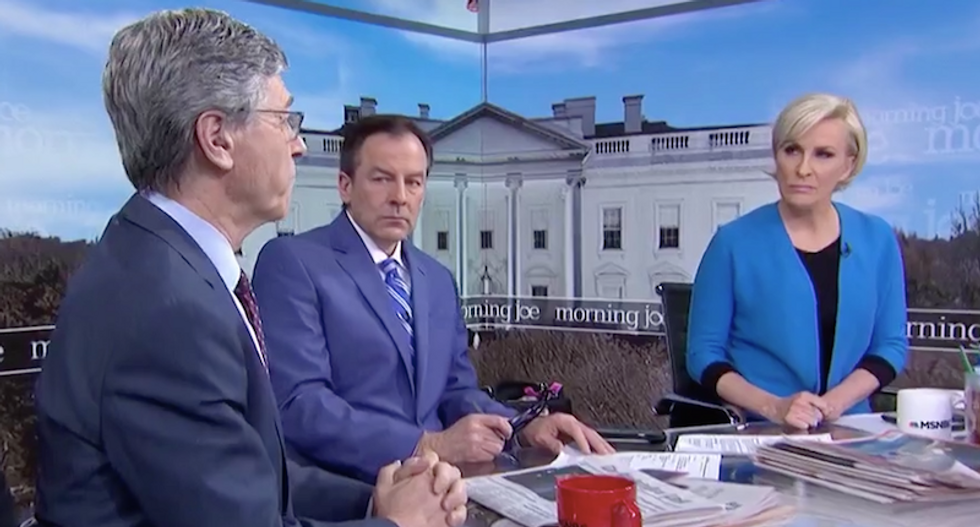 WATCH: Morning Joe panel stunned by professor's passionate case to 'get out' of Syria