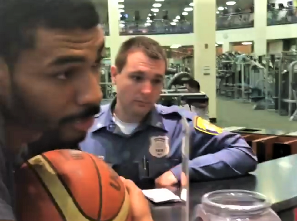 WATCH: Black man blocked from entering NJ gym where he's a paid member — and even the cops are confused