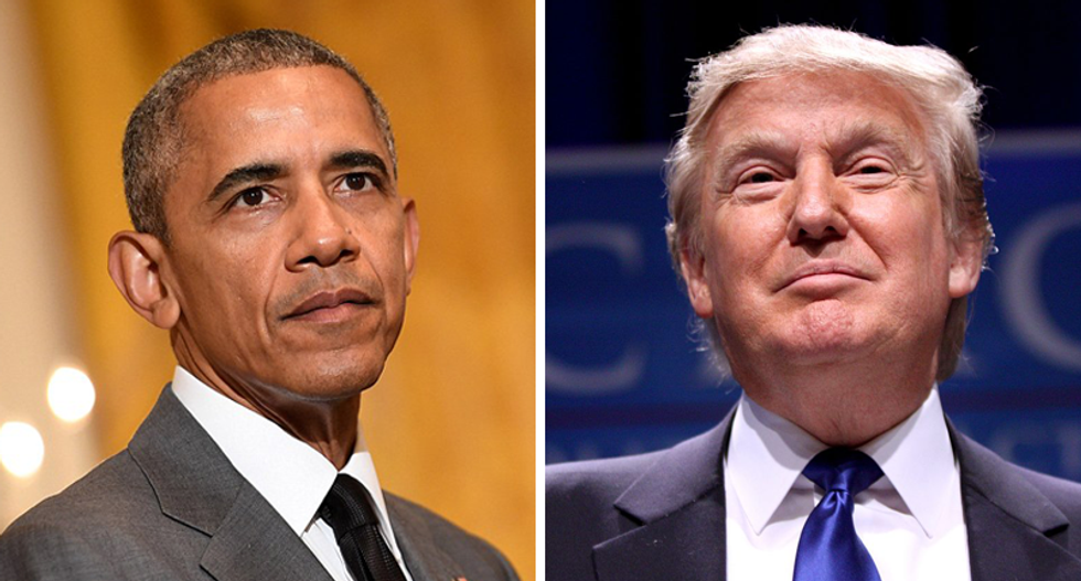 Trump loves to brag about how the stock market is doing -- but Obama's rally was much bigger