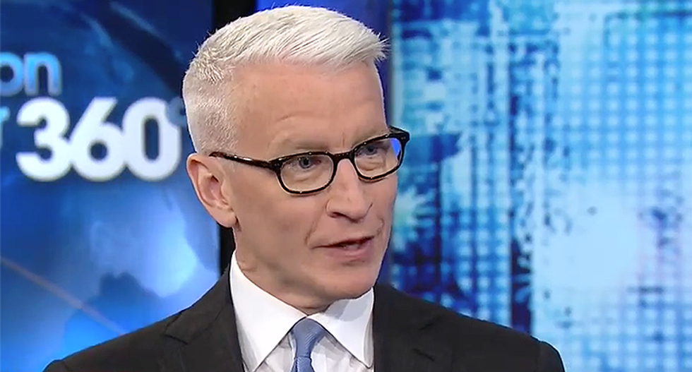 'It would open people's eyes': CNN's Cooper makes a bold proposal to bring home the savage reality of what an AR-15 can do