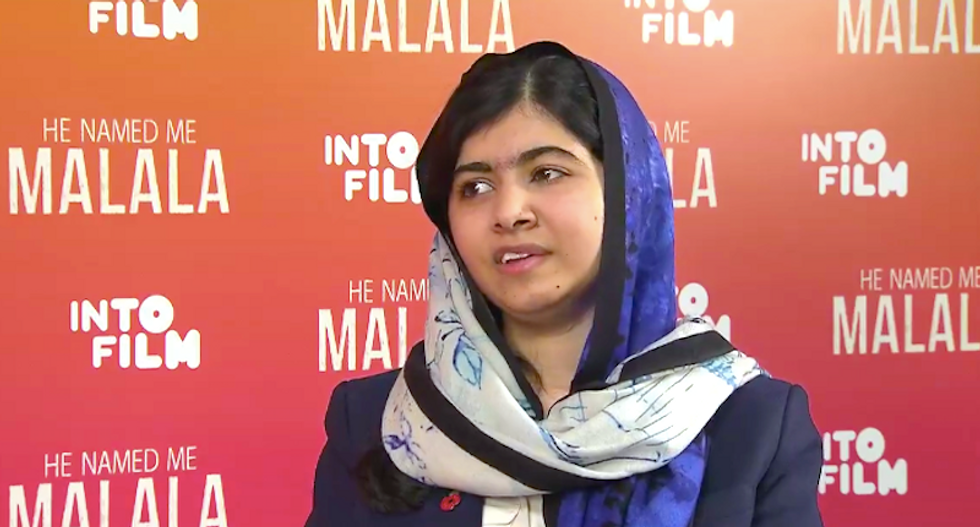 Malala Yousafzai slams Trump: His idea to ban Muslim immigration is 'full of hatred'