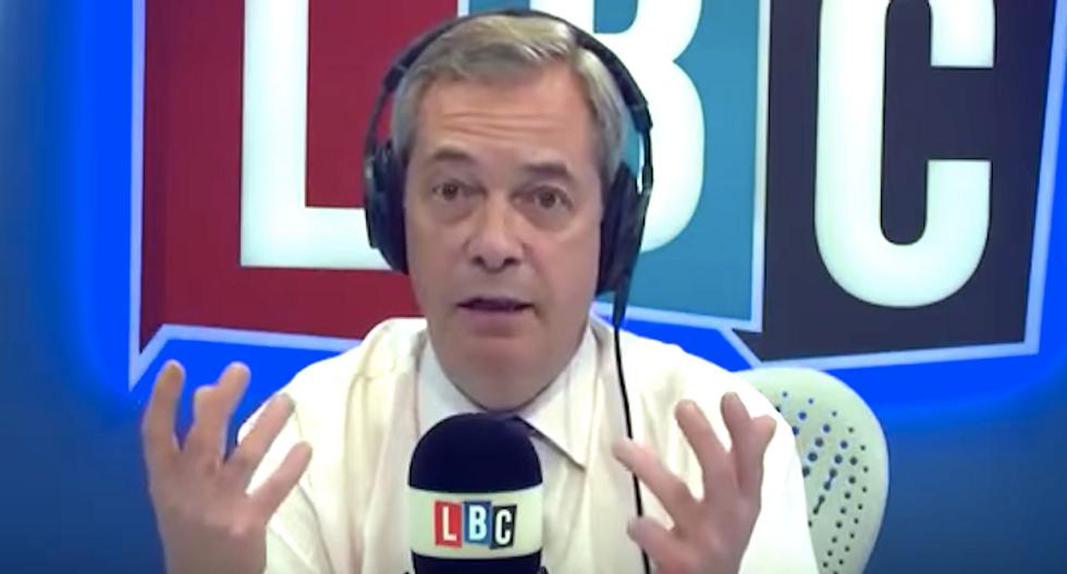Leaked emails reveal Trump backer and Brexit leader Nigel Farage's longstanding ties to Julian Assange