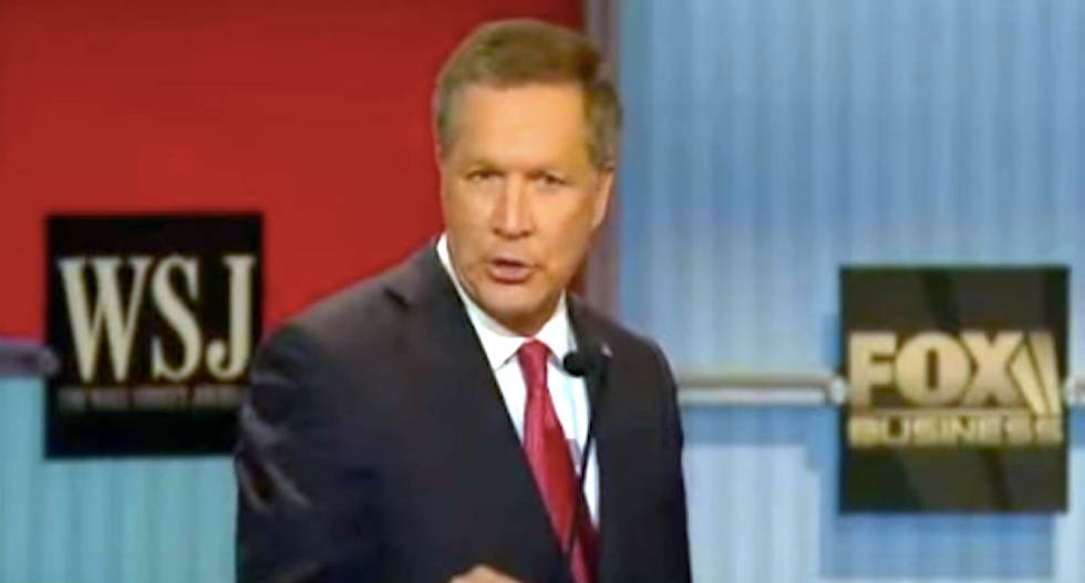'Adios, Kasich': Twitter conservatives howl in rage after Ohio governor slams Trump's 'silly' immigration plan