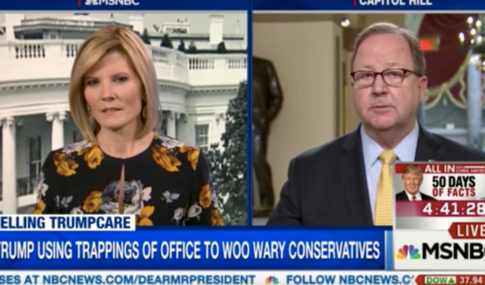 Texas Republican flounders when questioned about whether Trumpcare covers 'catastrophic' emergencies
