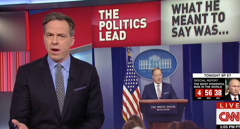 'We've had to live with this farce for nine days': Tapper shreds Trump for keeping wiretap lie alive