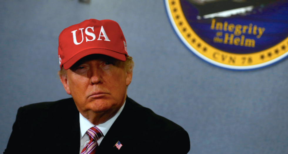 'I'll get back to you': White House won't say if Trump merch will be made in China for 'Made In America' week