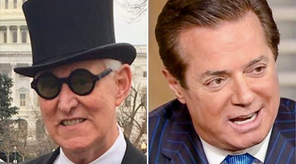 Trump allies Roger Stone and Paul Manafort both wanted for questioning in Russia investigations
