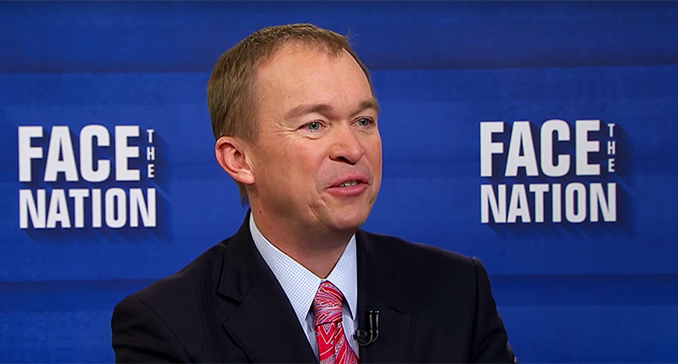 Trump budget chief who wants to cut Meals on Wheels says he is sacrificing by giving up business cards
