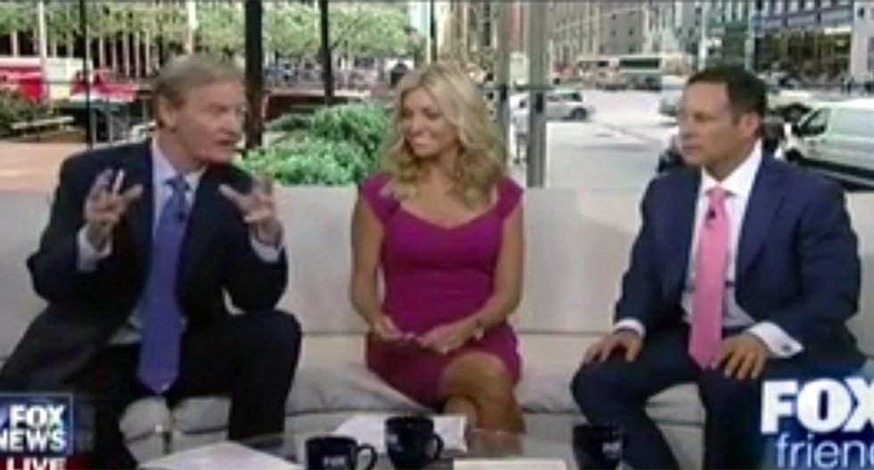 Fox and Friends launches absurd attack on Hillary: Wearing glasses is 'a sign of brain damage'