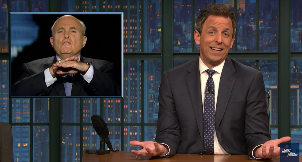 'Clear-cut': Seth Meyers challenges the media to call out Trump and his circle of 'serial habitual liars'