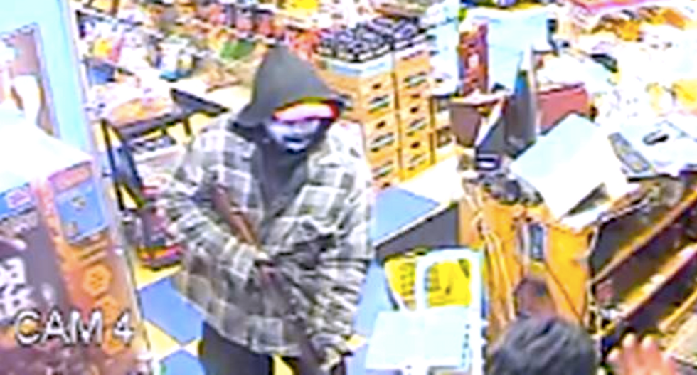 Clerk survives after gunman calls him a terrorist and blasts his face: 'I used to kill people like you in Iraq'