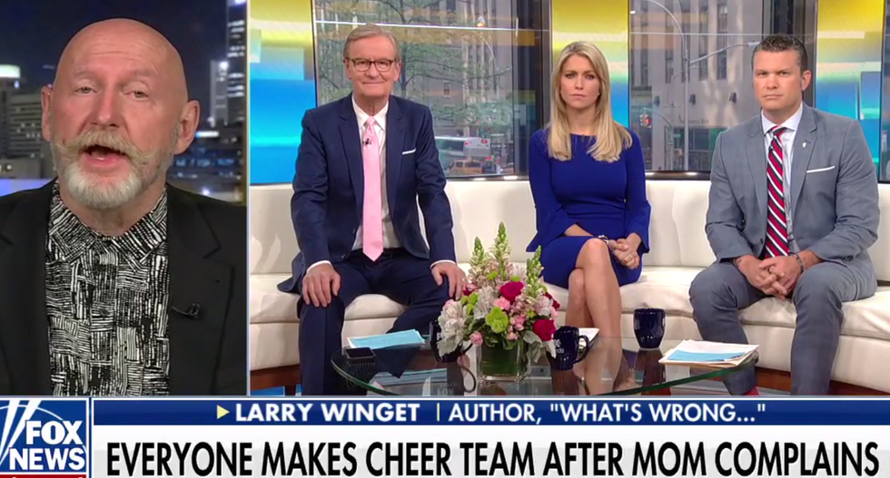 65-year-old man melts down on Fox News after high school forces cheerleading squad to make team more 'inclusive'