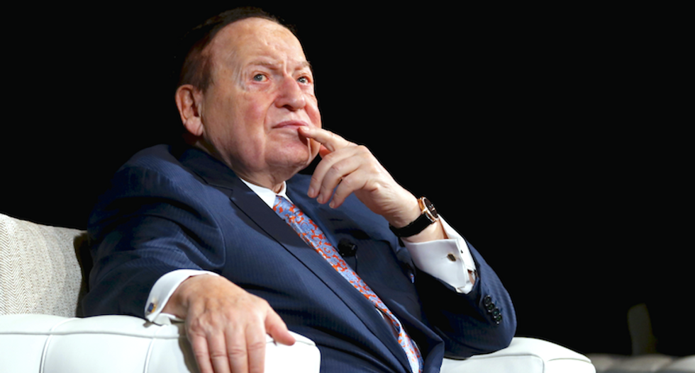 Casino mogul Sheldon Adelson gives $30 million to help House Republicans: Politico