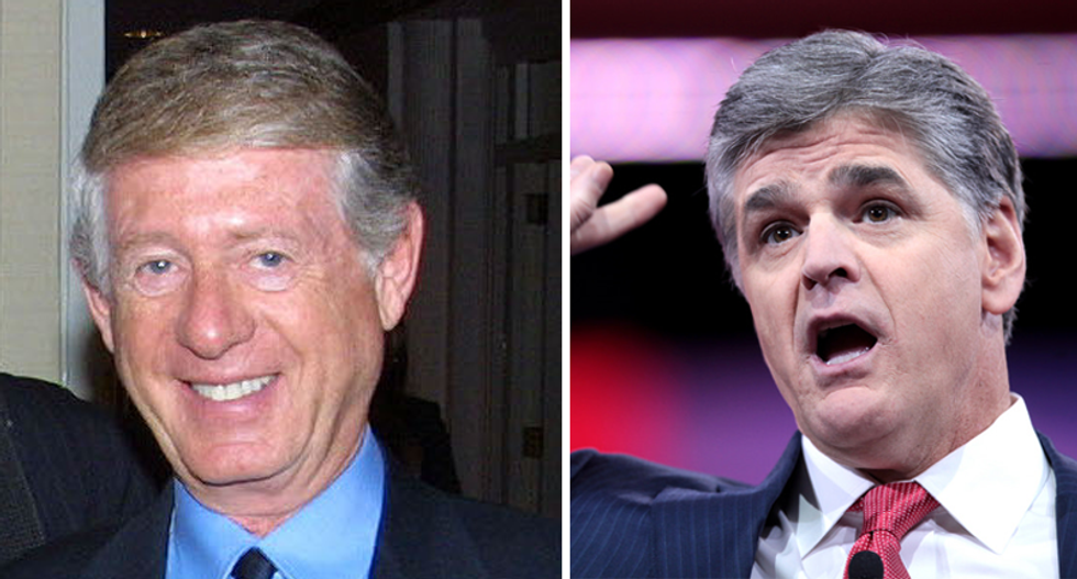 'I'm honest you're not': Sean Hannity demands Ted Koppel prove he puts 'ideology ahead of facts'