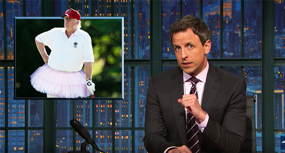 Seth Meyers brutally mocks Trump: Aides forced to defend him like he's an 'entitled 16-year-old'