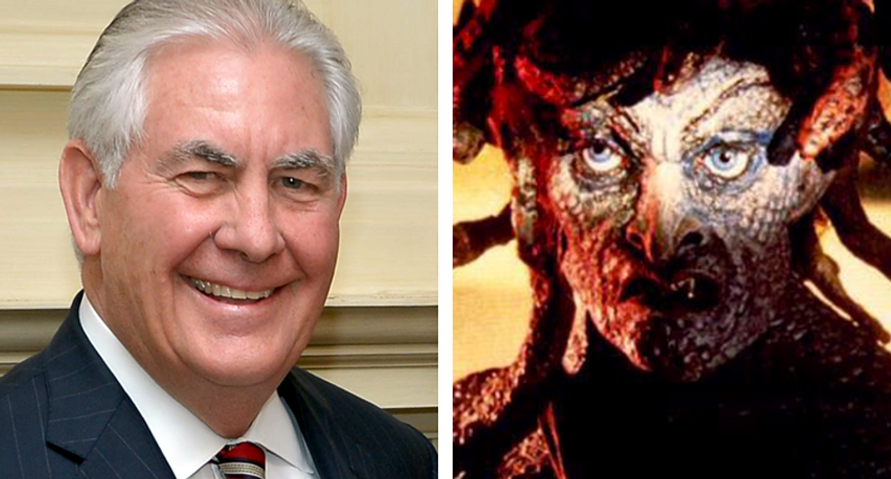 'It's Medusa!': Internet loses it after diplomats are told to avoid 'eye contact' with Rex Tillerson