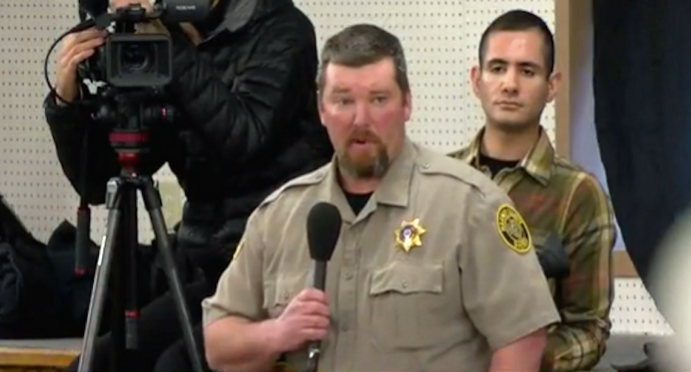 Here's why Oregon militants might be planning to 'arrest' the sheriff and execute him for treason